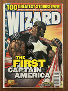 Wizard The Comics Magazine 131 1st Isiah Bradley Both Covers Vg Condition Lot