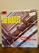 The Beatles 1963 First Please Please Me Pmc1202 Gold Label Andnbspvg