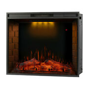 33 Electric Fireplace Recessed Insert Or Wall Mounted Standing Electric Heater
