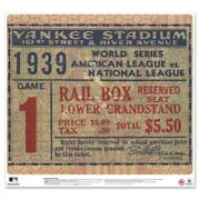 New York Yankees 1939 World Series Game 1 24and039and039 Ticket Stub