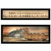 Together Blessed By Lori Deiter Print Wall Art Wood Multi-color
