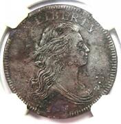 1797 Draped Bust Large Cent 1c Coin - Certified Ngc Au Details - Rare Date