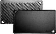 Lodge Pre-seasoned Cast Iron Reversible Grill/griddle, 16.75 Inch X 9.5 Inch, Bl