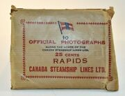 Canada Steamship Lines 10 Vintage Black And White Photographs Pha