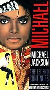 Michael Jackson The Legend Continues Vhs, 1989 Very Rare Collectible