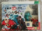 Xbox 360 Disney Infinity Starter Pack 1.0 Edition - New And Sealed - Read