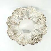 Antiques Dish Footed Compote Large Sterling Silver Reed And Barton X565 Francis I
