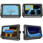 Lowrance Elite-9 Ti2 Fish Finder W/ Built-in Genesis Live Real-time Mapping