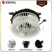 For Benz Car Hvac Heater Blower Motor Fan 2108206842 Abs Plastic Front
