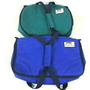 Pyrex Portables Insulated Carrier Bundle With Hot Packs 12.5x9x3.5 13x8x3