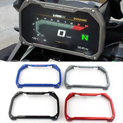 Titanium Meter Frame Cover Screen Protector For Bmw R1200gs R1250gs F850gs