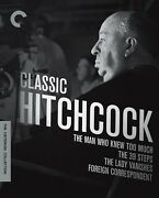 Classic Hitchcock Criterion Collection 4-movies Blu-ray Box Set [brand New