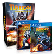 Turrican Collector's Edition Ps4 Limited 3500 Only - Preorder