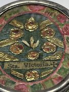 Anddagger Enormous Antique Sta Victoria Martyr Relic First Class Theca Holder 3 1/4 Anddagger