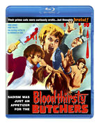 Bloodthirsty Butchers 1970 Blu-ray Rare Code Red Edition - Andy Milligan