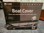 Classic Accessories Stormpro 14-16and039 V-hull Boat Cover