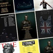 Stormzy Album And Tour Photo Print Poster Heavy Is The Head Gang Signs Prayer Hith