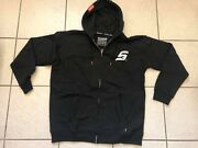 Dixxon Flannel Snap-on Hoodie Zip Up Limited Edtion Rare