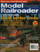 Model Railroader 7 July 2007 3 How-to Stories Build Better Trees Magazine U1