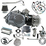 125cc Motor Kit Semi Auto Electric Engine For Honda Trail Ct70 Atc110 Coolster
