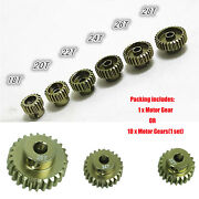 48p 7075 Hardened Motor Gear For Xis Cs R31 Scx10 Rc Car Model Accessories