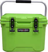 Camp-zero 10l | 10.6 Quart Premium Cooler/ice Chest With 2 Molded-in Cup Holders