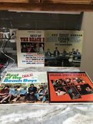 Lot Of 4 The Beach Boys Vinyl Records Shit Down. Party, Best Of Vol 2