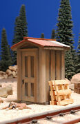 G Scale Train Shed Building For Use W Lgb Aristocraft Mth Usa Track, Locomotives