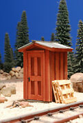 G Scale Train Shed Building For Use W Lgb Accucraft Mth Usa Track And Locomotives