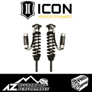 Icon Extended Travel Rr Cdcv Front Coilover Shock Kit For And03907-and03909 Toyota Fj