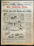 1963 The Sporting News-cincinnati Reds Pete Rose Nl Rookie Of The Year