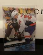2020-21 Upper Deck S1 Clear Cut Acetate 234 Young Guns Yg Connor Mcmichael Rc