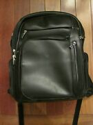 Tumi Backpack Arrive Kingsford Black Leather Backpack Look And Read