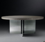 Restoration Hardware 'channel' Round Dining Table 48
