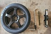 Spare Tire For Mercedes Benz E-class Car Model Comes With Tools, Jack, And Cover