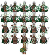 21pcs Lord Of The Rings Rohan Throw Axe Archer Building Block Mini Figure Toy
