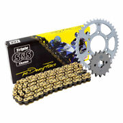Triple-s Motorcycle Chain And Sprocket Kit For Honda Vt750 C / Cd2 Shadow 98-07