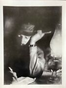Fidel Castro With A Cigar - Photo Signed And Stamped By Alberto Korda