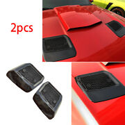 Abs Piano Black Car Machine Cover Air Outlet Frame Cover For Ford Mustang 18-20