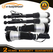 4xfront Rear For Mercedes W220 S Class S430 S500 2wd Air Suspension Shock Strut