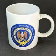 Nsa National Security Agency 50th Anniversary Dod Crypto Excellence Coffee Mug