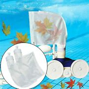 5pcs White Universal Swimming Pool Cleaner Filter Bag Clean Rubbish Durable