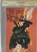 Tmntthe Last Ronin 1 Cgc 9.9 Signed Kevin Eastman Retailer Incentive Edition