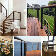 Cable Railing Marine Grade 316 Stainless Steel Wire Rope Kit Indoor Outdoor Sale