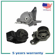 Engine Motor And Trans Mount For 04-09 Kia Spectra Spectra5 2.0l 7139 7165 7115