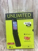 Lg Classic Flip 4g Lte Cell Phone Straight Talksold As Is For Parts No Returns