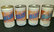Lot Of 4 Different Billy Beer Cans- Aluminum / Steel -ky Tx N.y.