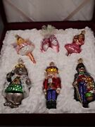 Old World Christmas Ornaments Nutcracker Suite Collection Glass Blown Ornaments