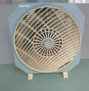 Vintage Patton Box Fan 3-speed Adjustable Spinning Front Grill - 15 - Ca-1284