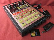Boss Sp-303 Dr.sample Drum Machine Used Tested W/ 32mb, Power Supply Ac100-240v